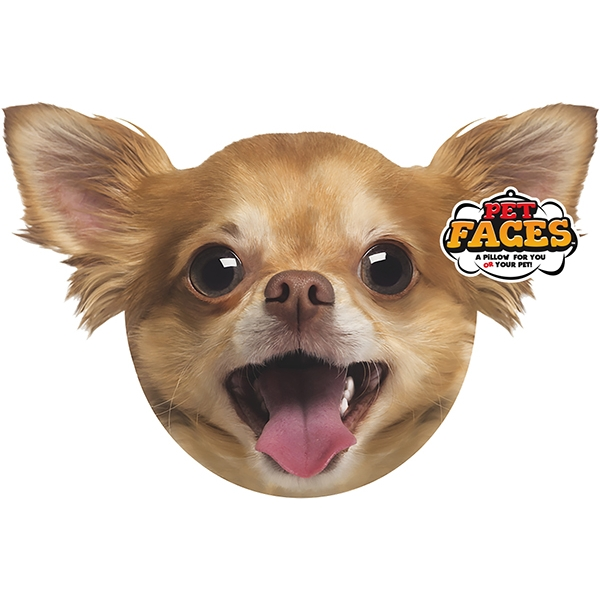 Pet Faces Chihuahua Cushion