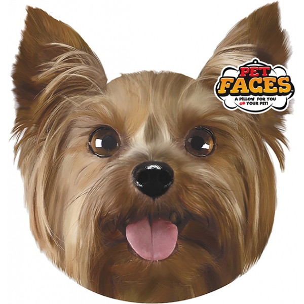 Pet Faces Yorkshire Terrier Cushion