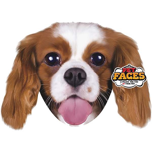 Pet Faces King Charles Cushion