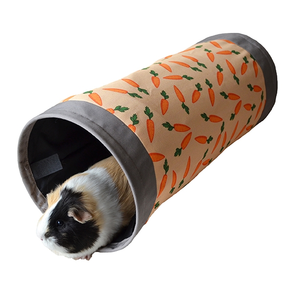 Carrot Fabric Tunnel :: Rosewood Pet