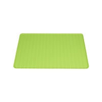 Foldable silicone travel mat