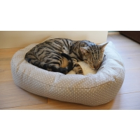 Dotty Feline bed 56cm