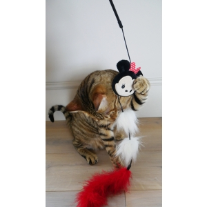 Minnie Wand Cat Toy