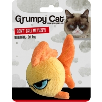 Grumpy Goldfish Ball Cat Toy