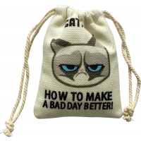 Grumpy Catnip Cat Sack Cat Toy