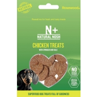 Chicken Treats with Spinach & Kale 80g
