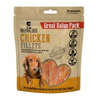 Chicken Fillets Dog Treats Value Pack 400g
