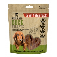 Duck Fillets Dog Treats Value Pack 320g