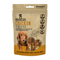 Chicken Twists Dog Treats 80g