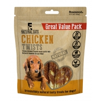 Chicken Twists Dog Treats Value Pack 320g