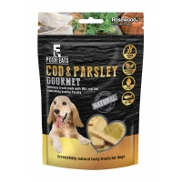 Cod & Parsley Gourmet Dog Treats 80g