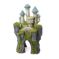 Moss Covered Mythical Castle