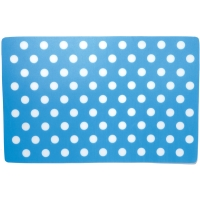 Placemat Blue Polka Dots